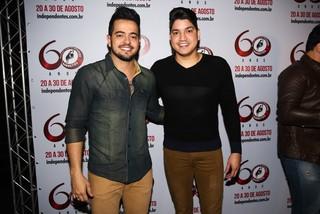 Henrique e Diego em festa em São Paulo (Foto: Manuela Scarpa/ Foto Rio News)