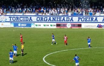 Com gol contra, Villa Nova vence URT, segue com 100% e lidera Mineiro