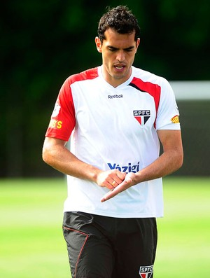 rhodolfo são paulo treino (Foto: Marcos Ribolli / Globoesporte.com)