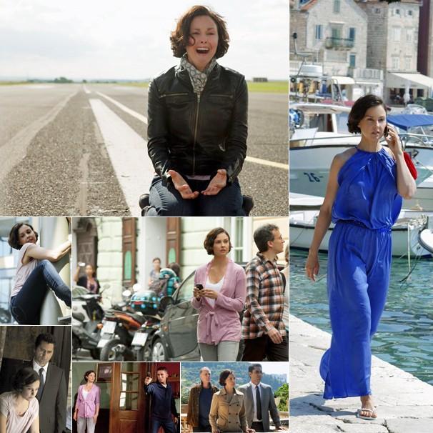 A atriz Ashley Judd é Becca Winstone, ex-agente da CIA que vai a Roma salvar o filho de sequestradores (Foto: Divulgação)