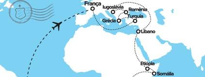 ABC vive epopeia ao redor do mundo (Thiago Assis/Editoria de Arte)