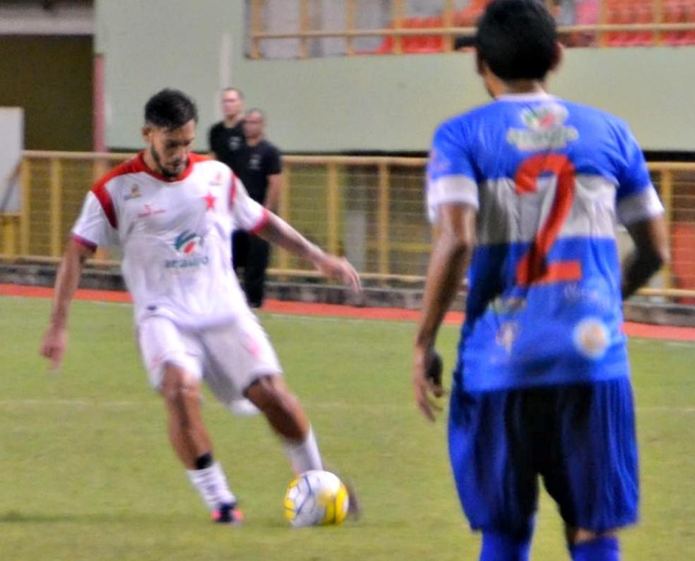 Rio Branco e Atlético-AC, na Arena da Floresta (Foto: Quésia Melo/G1 )