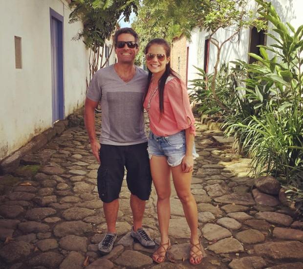 Nívea Stelmann e o marido, o empresário Marcus Rocha (Foto: Reprodução/Instagram)