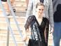 Natalie Portman aposta em transparência para première