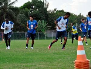 treino do bahia (Foto: Eric Luis Carvalho)