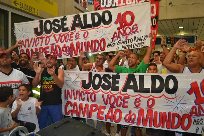 Faixas José Aldo (Foto: Raphael Marinho)