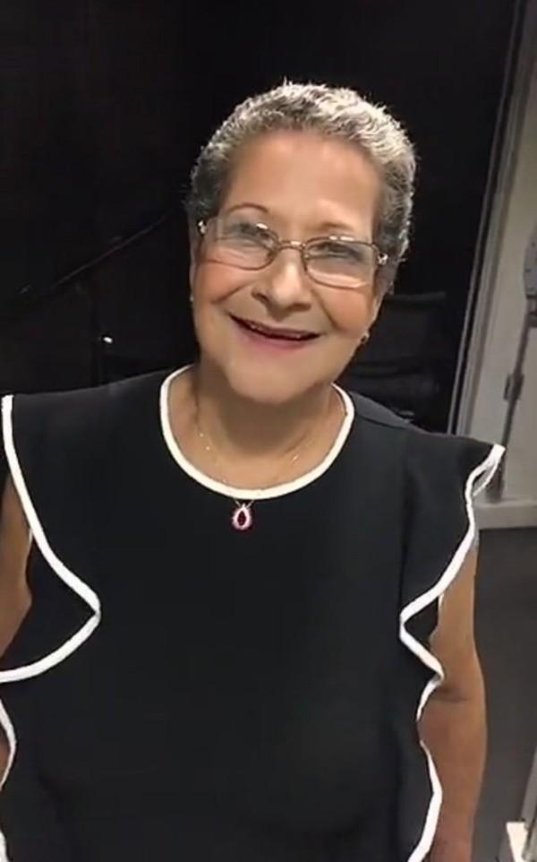 Dona Geralda - Ex BBB 2016 (Foto: Reprodução Snapchat)
