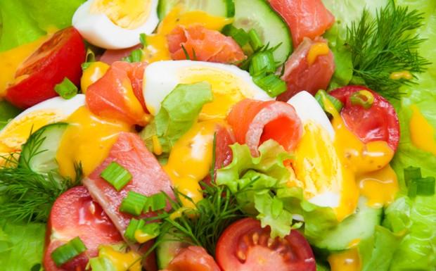 Receita de salada verde com molho de mostarda / Imagem ilustrativa (Foto: Divulgao / iStock Zb89V)