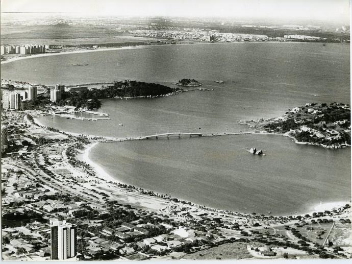 Vista aérea da Curva da Jurema em 1991 (Foto: Gildo Loyola)