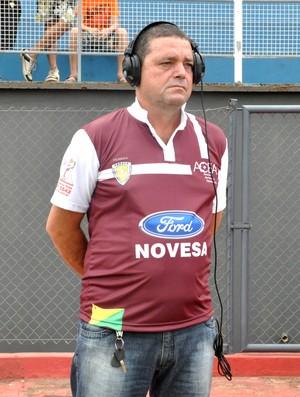 Adelcimar Carvalho, novo técnico do Náuas (Foto: Manoel Façanha / Cedida)