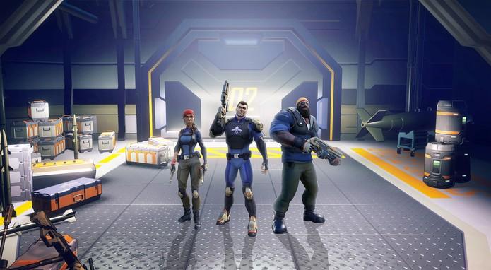 Agents of Mayhem permite controlar três heróis ao mesmo tempo (Foto: Divulgação/Volition)