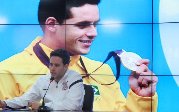 thiago pereira corinthians londres 2012 olimpiadas (Foto: Leandro Canônico/Globoesporte.com)