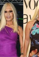 Aos 59 anos, Donatella Versace rouba a cena na passarela da SPFW