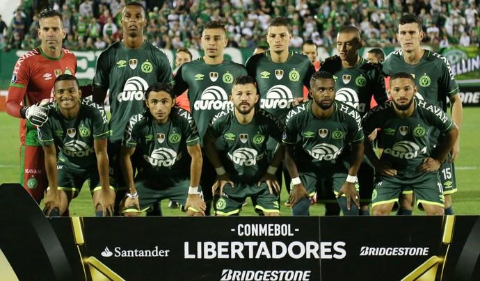 Chapecoense x Nacional (Foto: REUTERS/Diego Vara)
