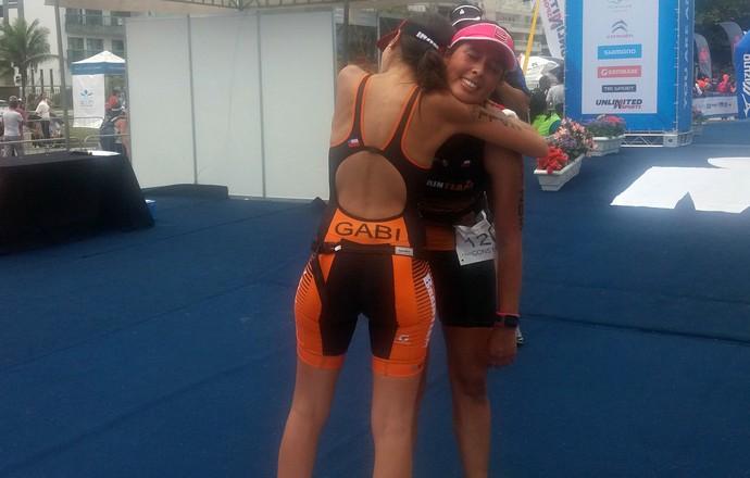 EuAtleta - Iron 70.3 Rio irmãs (Foto: Renata Domingues)