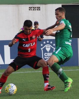Zagueiro Neto Chapecoense (Foto: Giba Pace Thomaz/Chapecoense)
