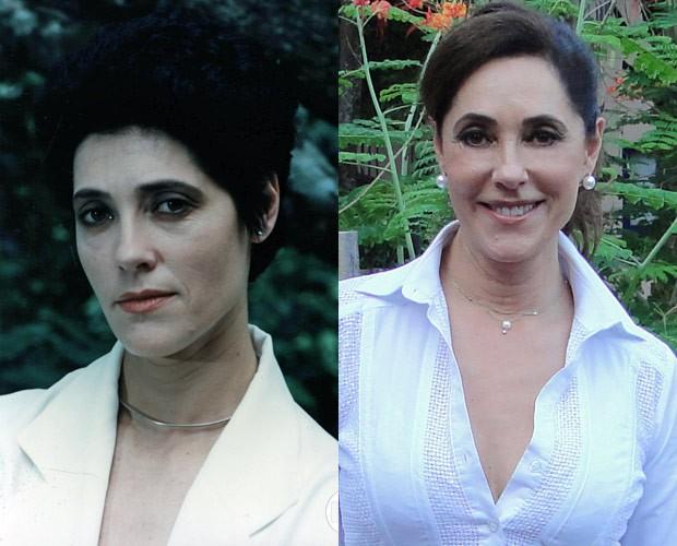 Christiane Torloni (Foto: CEDOC / TV Globo e Vídeo Show / TV Globo)