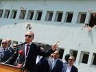 Presidente turco vai retirar processos por insulto