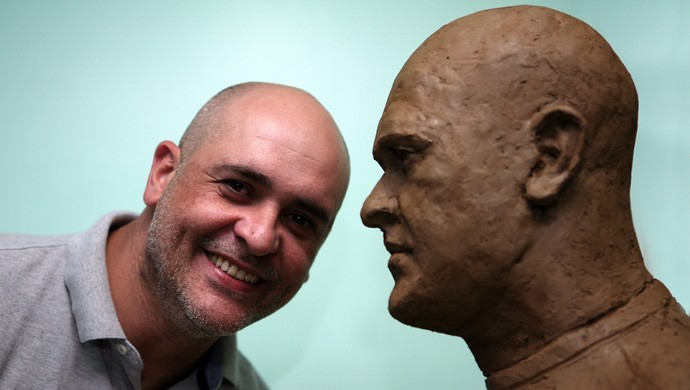 Marcos busto Palmeiras (Foto: Fabio Menotti / Agência Palmeiras / Divulgação)