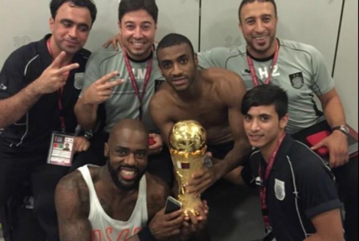 BLOG: Em final de gols brasileiros, Muriqui bate Romarinho e garante título do Al Sadd
