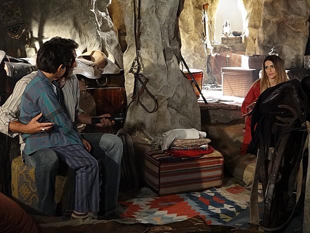 Ekran reclama de Bianca para Zyah (Foto: Salve Jorge/TV Globo)