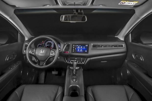 Painel do Honda HR-V Touring (Foto: Divulgação)