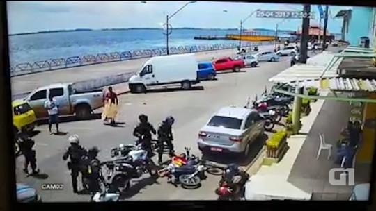 Jovens são baleados durante perseguição policial na Av. Tapajós em Santarém