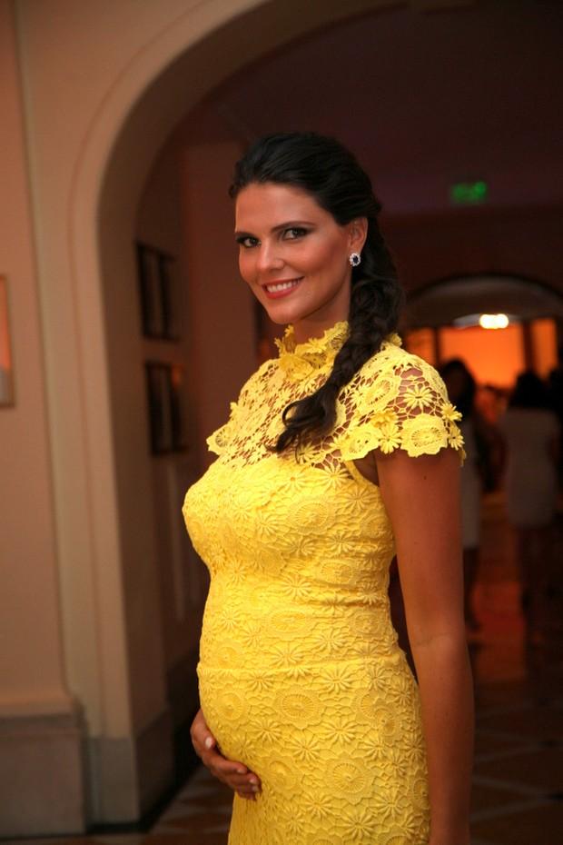 Daniela Sarahyba em premiação (Foto: Foto Rio News)