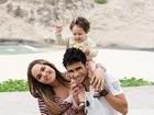No mês das Mães, Perlla posa em família para o EGO e aguarda a chegada de sua segunda filha