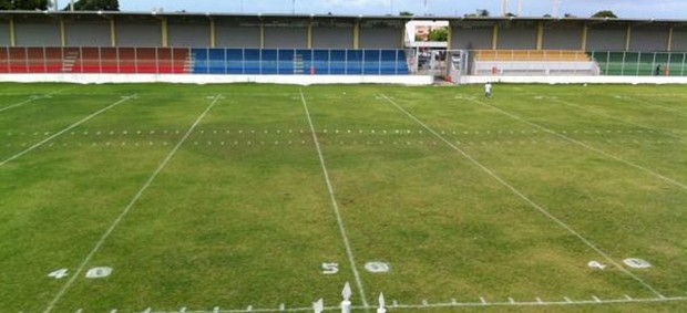Estádio da Graça marcado para partida do Espectros (futebol americano) (Foto: Divulgação / Botafogo Espectros)