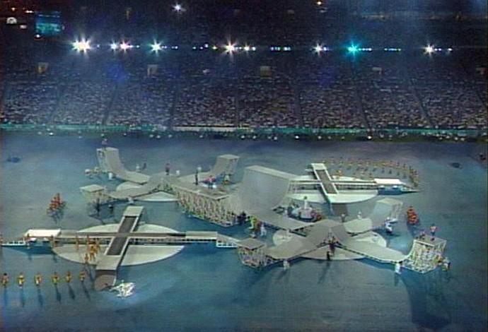 Encerramento Olimpiada de Atlanta Skate (Foto: Reprodução)
