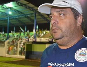 Fernando Lage, técnico do Rolim de Moura (Foto: Eliete Marques)