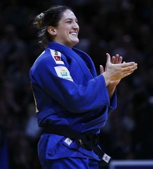 Mayra Aguiar conquista o ouro no Grand Slam de Paris judô (Foto: Divulgação / IJF)