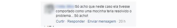 comentario machista 8 (Foto: Reprodução/ Facebook)