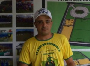 Jair Silva, técnico do Espigão (Foto: Jair Silva/Facebook)