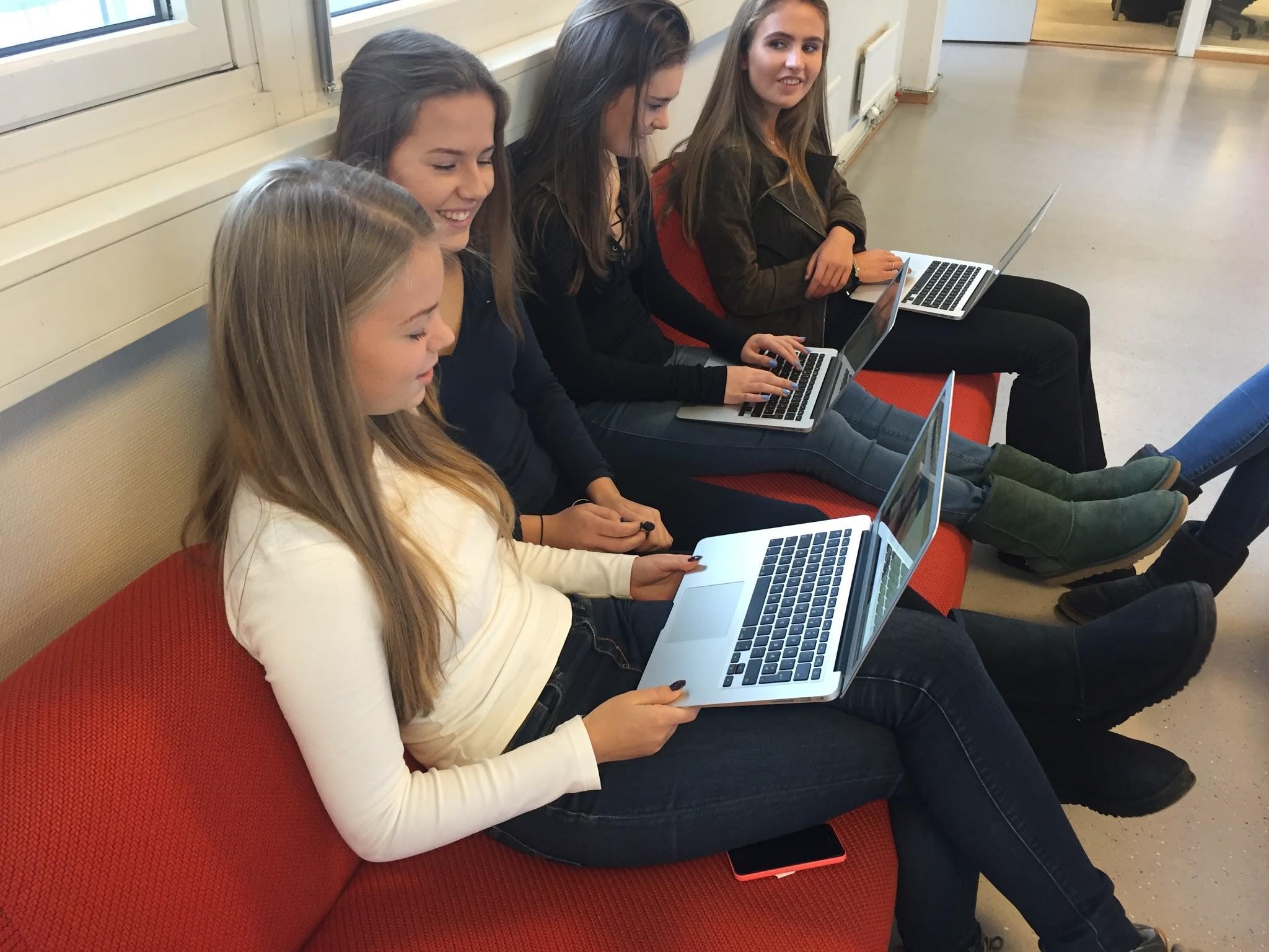 Sandvika VGS, uma das escolas secundárias norueguesas com maior grau de reconhecimento por iniciativas inovadoras em educação (Foto: Arquivo pessoal/ Ann Michaelsen)
