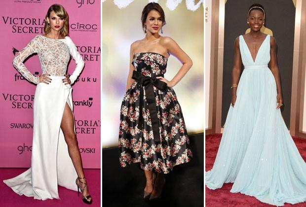 Lupita Nyong'o, Taylor Swift, Bruna Marquezine, Marina Ruy Barbosa ou Emma Stone: quem foi a famosa mais bem-vestida de 2014? Vote!