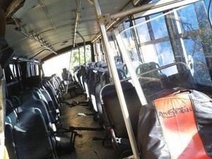 Cerca de 18 crianças estavam dentro do coletivo (Foto: Davi Motta/InterTV)
