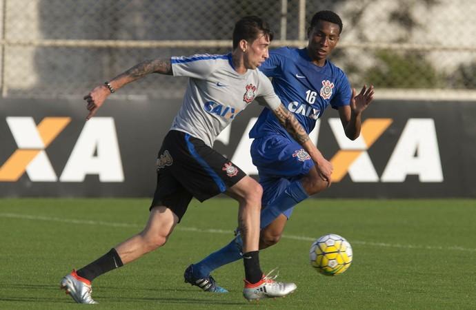 Rildo Corinthians treino (Foto: Daniel Augusto Jr/Ag. Corinthians)