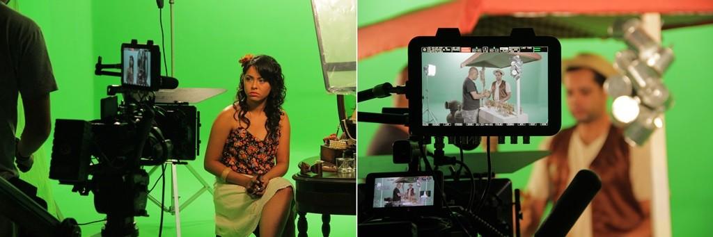 Bastidores do clip para o São João 2015 da TV Asa Branca (Foto: Marketing / TV Asa Branca)