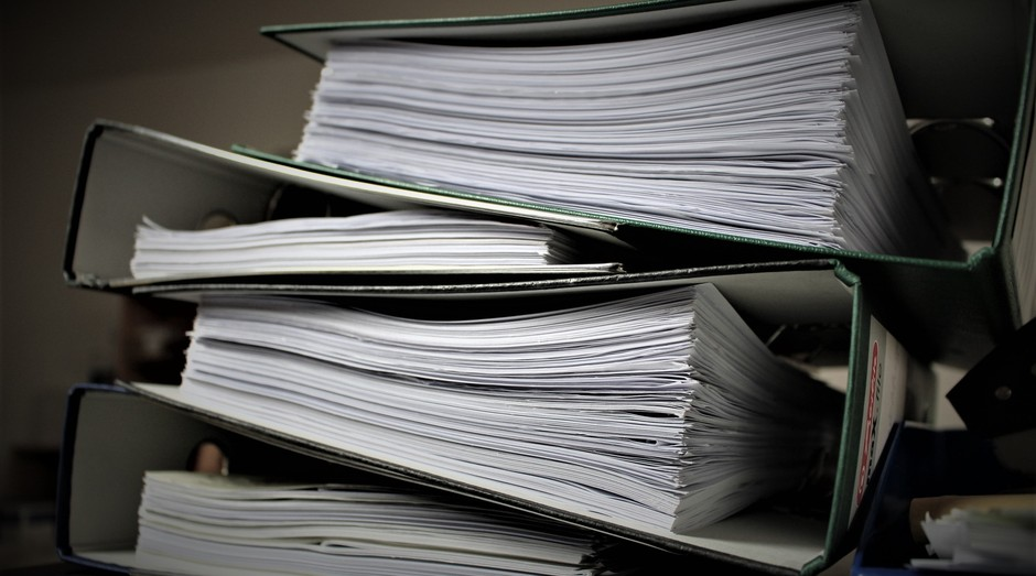Documento, papel, papelada, burocracia (Foto: Reprodução/Pexel)