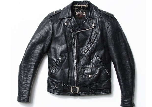 One-Star Perfecto Leather Motorcycle Jacket, late 1950's.  (Foto: Courtesy of Schott NYC)
