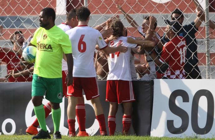 Wesley, atacante do Botafogo-SP (Foto: João Valdevite/Ag. Botafogo)