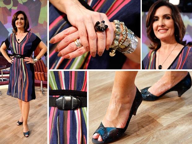Look_Fatima (Foto: Encontro com Fátima Bernardes/TV Globo)