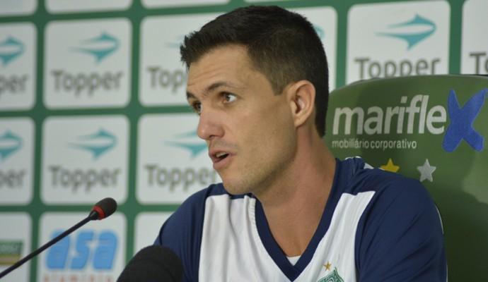 Mauricio Barbieri técnico Guarani (Foto: Gabriel Ferrari / Guarani Press)