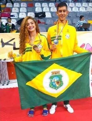 taekwondo, seleção brasileira, sul-americano, cearense (Foto: Divulgação)