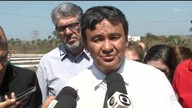 Governador fala da crise e anuncia suspensão de obras