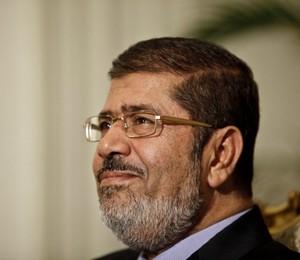 O presidente do Egito, Mohamed Morsi (Foto: Maya Alleruzzo/AP)