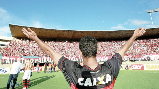 Juninho - Atacante Atlético-GO (Foto: O Popular)