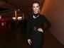 Fernanda Keulla usa look justinho no SPFW: 'Malho muito para poder comer'